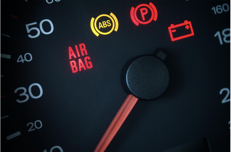 Airbag lampje brand